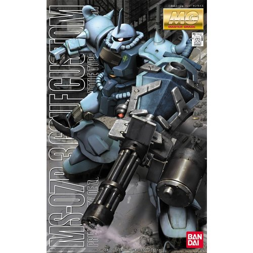Bandai Gundam MG 1/100 MS-07B3 Gouf Custom Model Kit 30cm