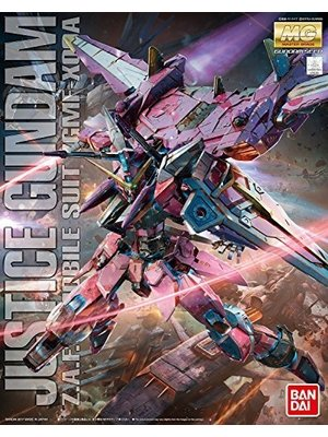 Bandai Gundam MG 1/100 Justice Z.A.F.T ZGMF-X09A Model Kit