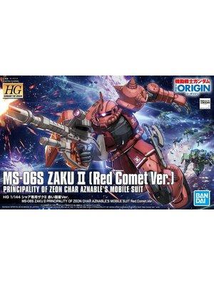 Bandai Gundam HG 1/144 MS-06S Zaku II Aznable's Mobile Model Kit 024