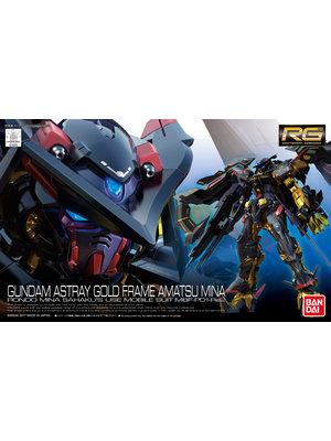 Bandai Gundam RG 1/144 Astray Gold Frame Amatsu Mina Model Kit 24
