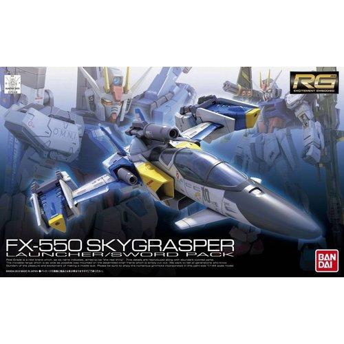 Bandai Gundam RG 1/144 FX-550 Skygrasper Launcher / Sword Model Kit 06