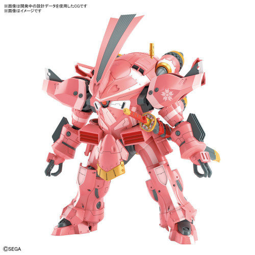 Sakura Wars HG 1/24 Spiricle Striker Prototype OBU Model Kit