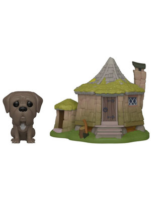 Funko Funko POP! Harry Potter 08 Hagrids Hut & Fang Figure