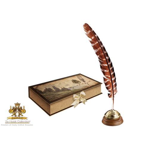 Harry Potter Writing Quill + Stand Noble Collection