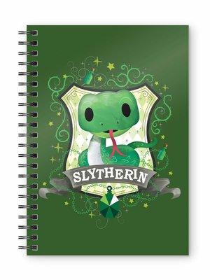 Harry Potter Slytherin Spiral Notebook A5