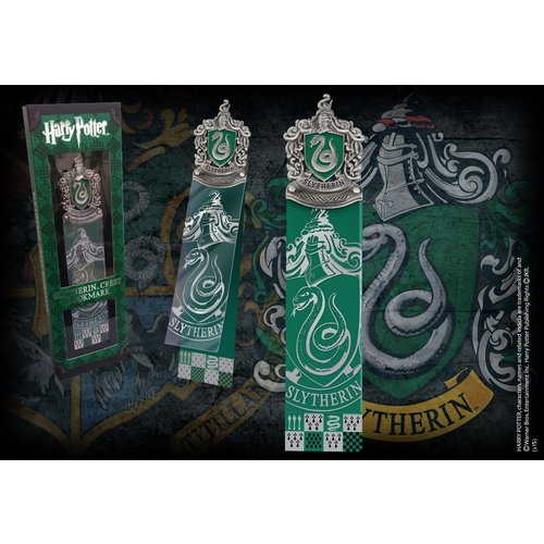 Harry Potter Slytherin Crest Bookmark Noble Collection