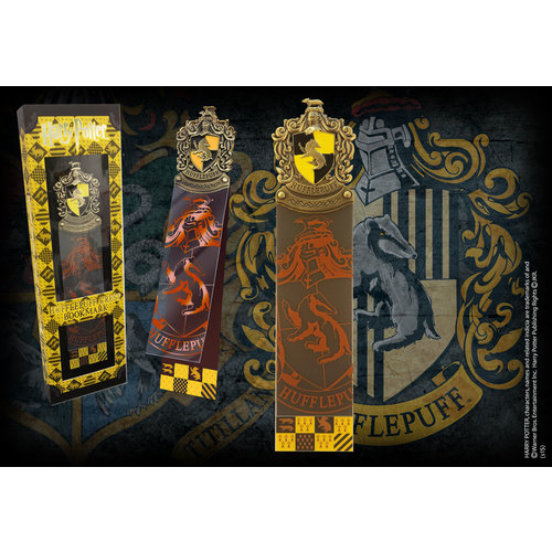 The Noble Collection Harry Potter Hufflepuff Crest Bookmark Noble Collection