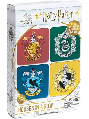 Harry Potter Houses in a Row Boardgame Wizarding World