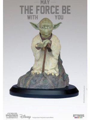 Star Wars Yoda on Dagobah Statue 17cm Limited Edition (999) Attakus