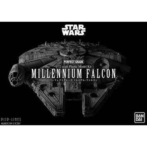 Bandai Star Wars PG 1/72 Scale Millenium Falcon Model Kit (revell)