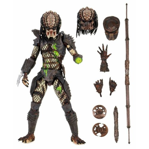 Neca Predator 2 : Ultimate Battle Damaged City Hunter 7inch Action Figure