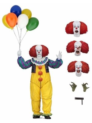 IT Ultimate 2017 Pennywise Miniseries Action Figure 7 inch Neca