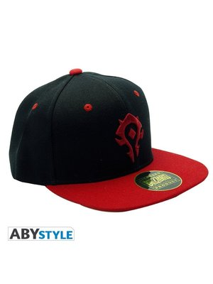 Abystyle World of Warcraft Horde Black & Red Cap