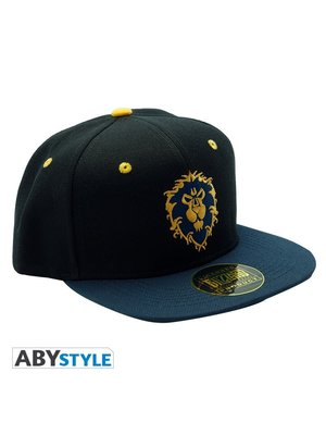 Abystyle World of Warcraft Alliance Blue Cap