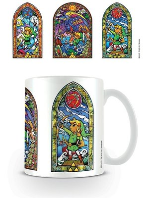 Hole in the Wall The Legend of Zelda Stainted Glass Tri Mug 300ml