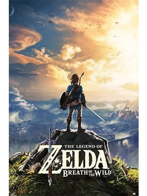 Hole in the Wall The Legend of Zelda Breath of the Wild Sun Maxi Poster 61x91.5