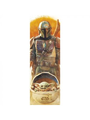 Hole in the Wall Star Wars The Mandalorian Doorposter 53x158