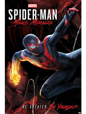 Marvel Spider-man Miles Morales Cybernatic Swing Maxi Poster 61x91.5