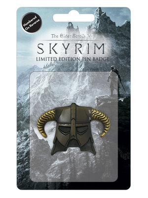 fanattik Skyrim Dragonborn Helmet Limited Edition Pin