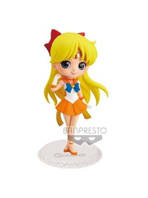 Banpresto Sailor Moon Eternal Super Sailor Venus Figure Q Posket Ver.A