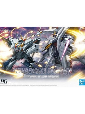Bandai Gundam HGUC 1/144 XI Gundam vs Penelope Funnel Missile Model Kit