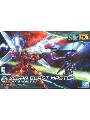 Bandai Gundam HGBD 1/144 Jegan Blast Master Yukki's Mobile Suit Model Kit 015