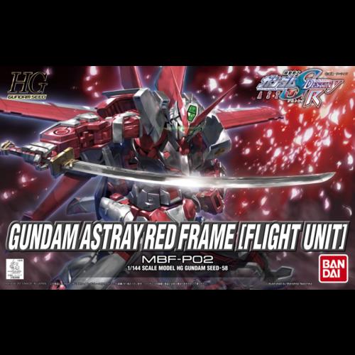 Bandai Gundam HG Gundam Seed Astray Red Frame (Flight Unit) Model Kit 58