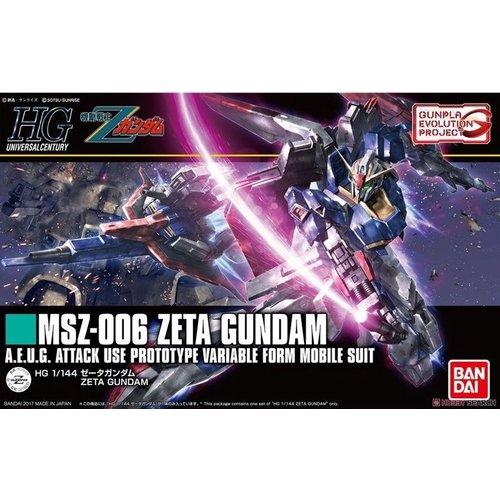 Bandai Gundam HGUC 1/144 MSZ-006 Zeta Attack Use Prototype Model Kit 203