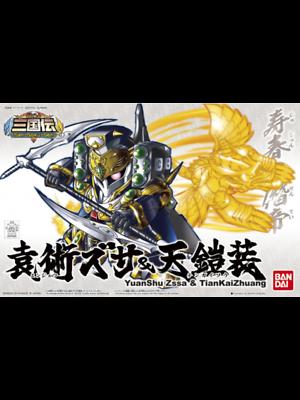 Bandai Gundam Sangokuden Yuanshu Zssa & Tiankaizhuang Model Kit BB408
