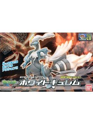 Bandai Pokemon Plamo White Kyurem 28 Model Kit