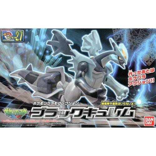 Bandai Pokemon Plamo Black Kyurem 27 Model Kit