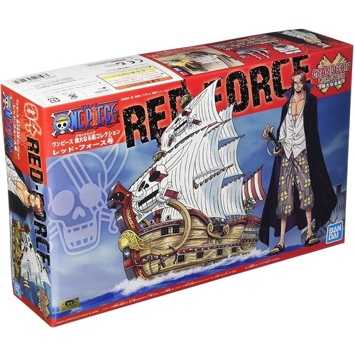 Bandai One Piece Red Force Ship Model Kit 15cm 04