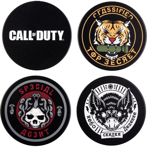 Call of Duty Cold War Badge Coaster Set of 4