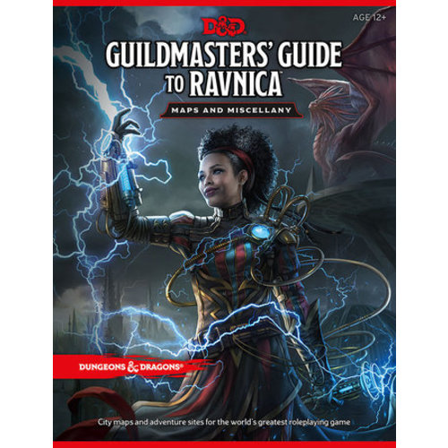 Dungeons & Dragons Guildmasters Guide to Ravnica Maps & Miscellany