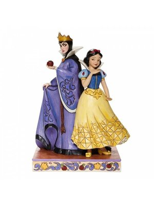 Disney Traditions Evil and Innocence Snow White and Evil Queen Figurine