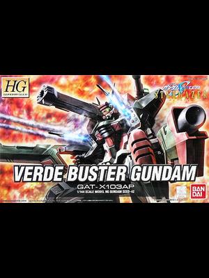 Bandai Gundam Seed HG Verde Buster Gundam Gat-X103AP 1/144 Model Kit 42