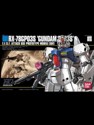 Bandai Gundam HGUC 1/144 RX-78 GP03S Model Kit