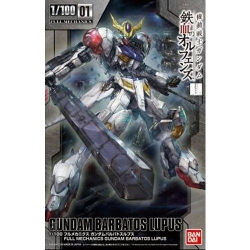 Bandai Gundam IBO 1/100 Full Mechanics Barbatos Lupus Model Kit 01