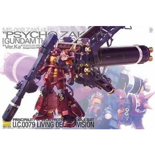 Bandai Gundam MG 1/100 MS-06R Zaku II HM Psycho Zaku Ver. Ka Model Kit