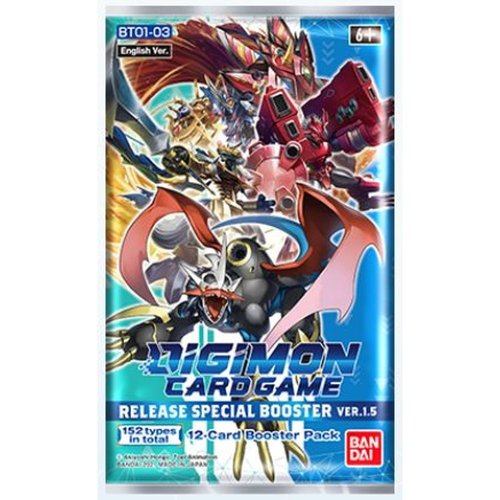 Digimon TCG Special Release Booster Ver 1.5