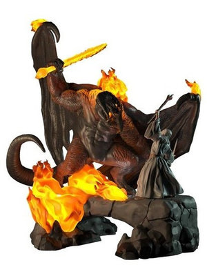 Lord of the Rings The Balrog VS Gandalf Light