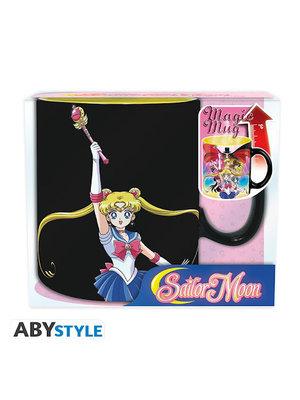 Sailor Moon Group Heat Change Mug 460ml