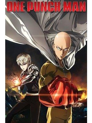 One Punch Man Destruction Maxi Poster 61x91.5