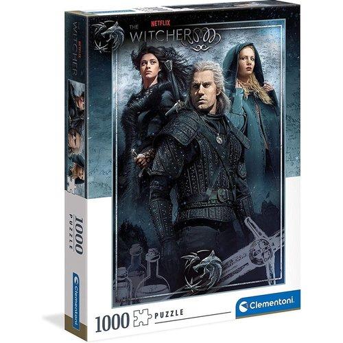 The Witcher Puzzle 1000pcs 50x69cm Clementoni
