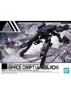 Bandai Gundam 30MM 1/144 Extended Armament Vehicle Space Craft Black Model Kit 08