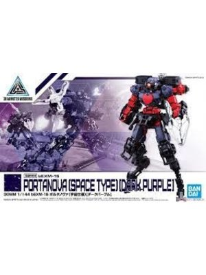 Bandai Gundam 30MM 1/144 bEXM15 Portanova Space Type Dark Purple 37