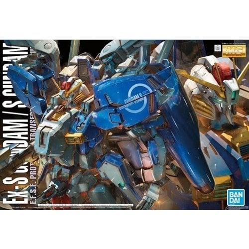 Bandai Gundam MG 1/100 EX-S E.F.S.F Prototype Transformable Mobile Suit Model Kit
