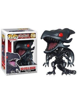 Funko Funko POP! Yu-Gi-Oh! 718 Red Eyes Black Dragon Figure