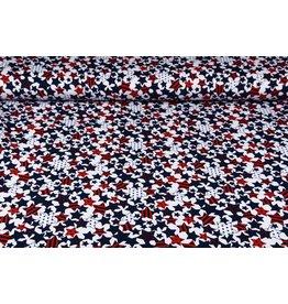 Baumwoll-Stretch Kleine Sterne