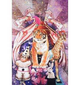 Digital Panel Zirkus Tiger Baumwolljersey